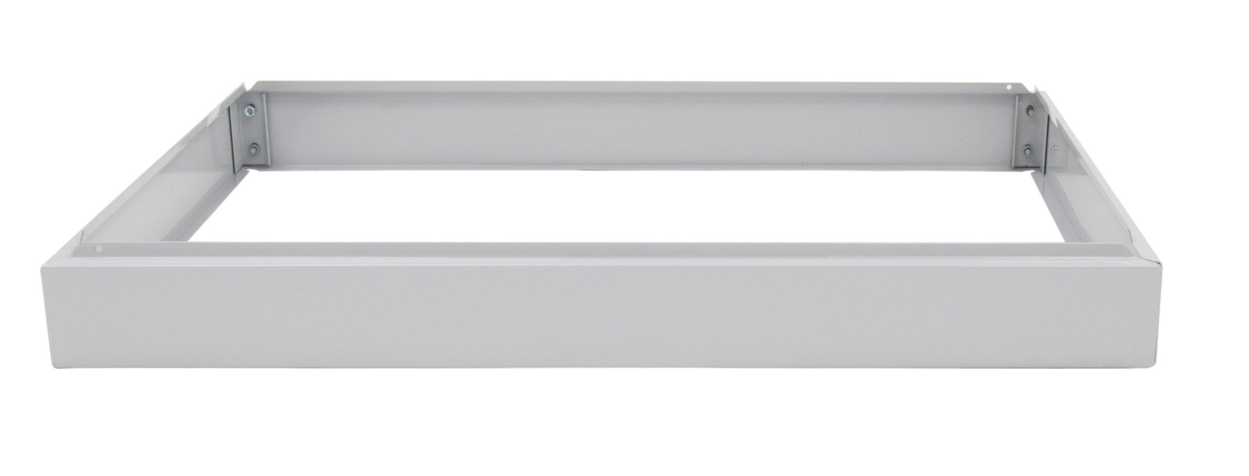 Studio Designs Flat File Riser in Light Grey 40.75 inches wide by 28.5 inches deep 60725 by Studio Designs