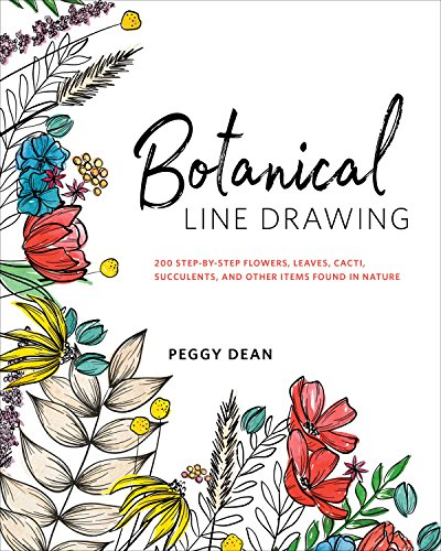 Botanical Line Drawing 200