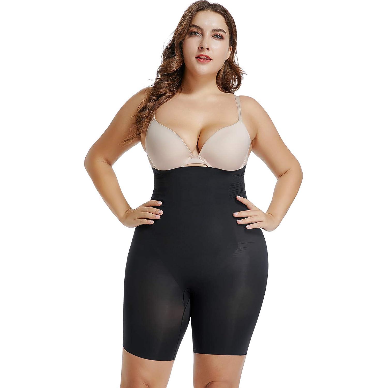 Joyshaper Tummy Control Thigh Slimmer Body Shaper for Women High Waist Knickers Slimming Butt Lifter Boyshorts Pants Seamless Shapewear Underwear