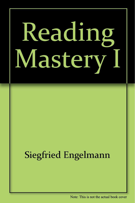 Reading Mastery I (Fast Cycle Distar Reading Storybook 1 SRA ...