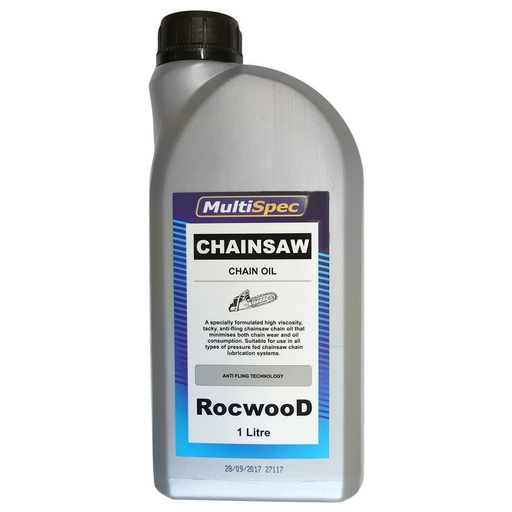 RocwooD 1 Litre Of Saw Chain Oil Ideal For Petrol & Electric Chainsaws