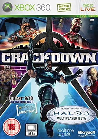 Resultado de imagem para Crackdown xbox 360