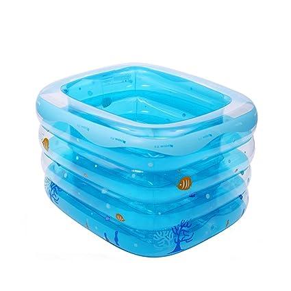 4274e656919 El aislamiento inflable casero de la piscina de los niños espesa la bomba  de la tina