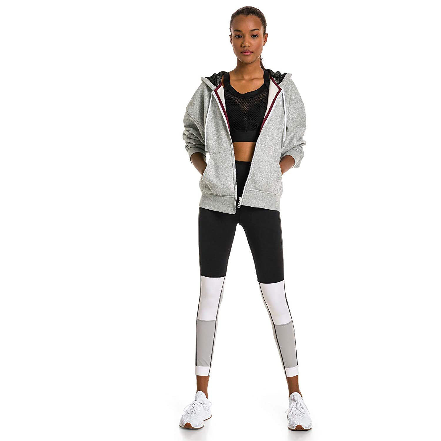 Blackwhitehigh Rise Medium PUMA Womens Sg X 7 8 Tight Leggings