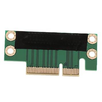 Baoblaze PCI-e 4X Gráfica Extender Riser Tarjeta para PC de ...