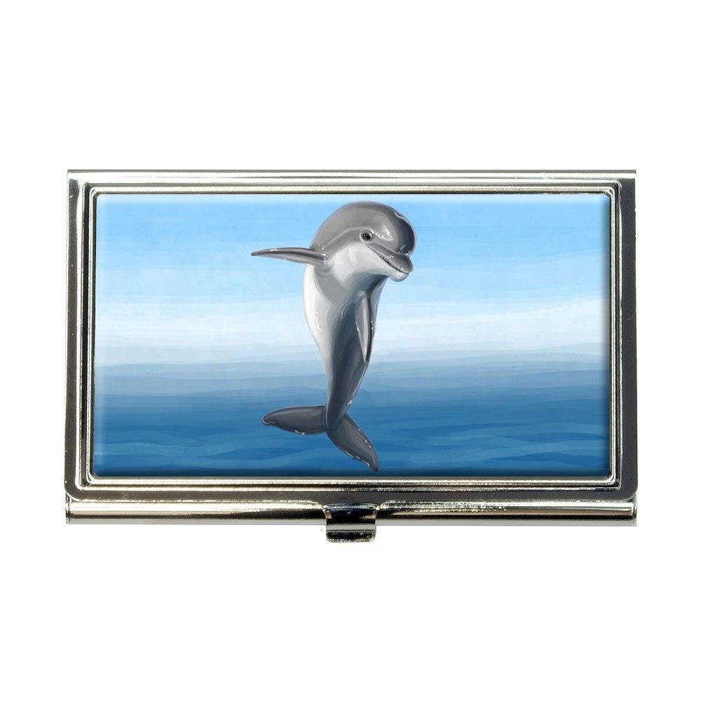 Flippin for Dolphinsビジネスクレジットカードホルダーケース   B00K1M4W8I