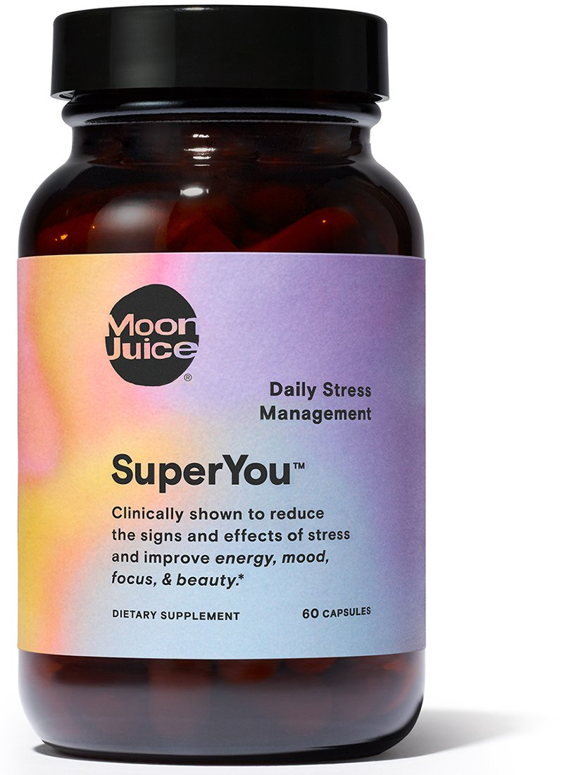 Moon Juice - SuperYou Natural Daily Stress Management Supplement (60 Capsules) by Moon Juice