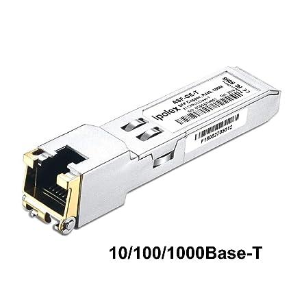 ipolex for Cisco GLC-T 10/100/1000BASE-T Copper SFP Module Auto-Negotiation  Mini-GBIC RJ45 Connector, SFP-GE-T, 100m