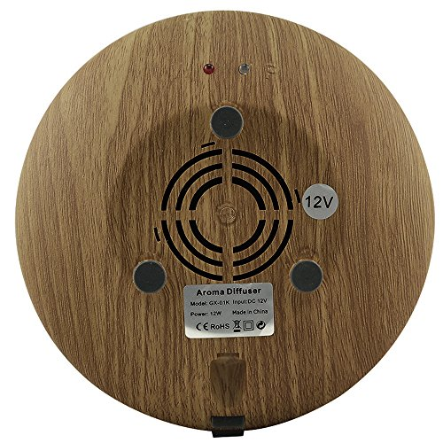 Ovovo Wood Grain Aromatherapy Essential Oil Diffuser Aroma Therapy Ultrasonic Air Humidifier Diffuser with 7 LED Night Light and Waterless Auto Shut-Off Function by Ovovo (Image #7)