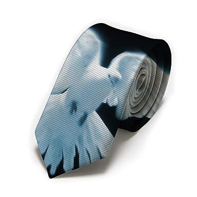 Corbata blanca de los hombres clásicos de la paloma, corbatas ...