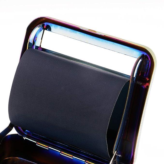 SM SunniMix 1 St/ück Metall Roller Zigarette Tabak-Roller-Box Zigarettentabak Roller Drehmaschine Box Fall Schmuckaufbewahrung