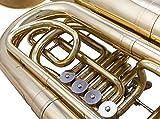 Glory GTUB4 High Grade Professional Tuba with