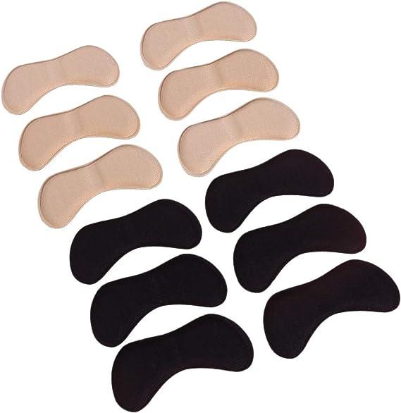 HEALIFTY ヒールグリップ 6組 靴擦れ防止パッド 滑り止め 足裏保護パッド付き