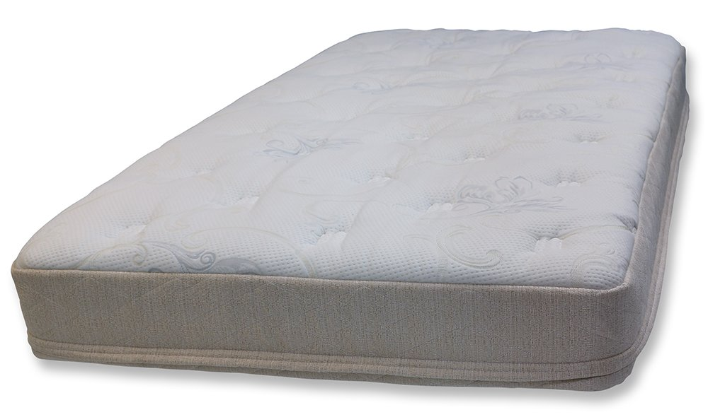 RV Premier Cool Gel Memory Foam Bunk Mattress with Plush Quilted Cover, 8'' RV Full (Several