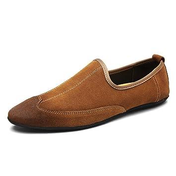 Zapatos Perezosos para Hombres 2018 Verano/otoño Zapatos Ocasionales para Hombre/Zapatos de conducción