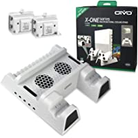 OIVO Vertical Cooling Stand Compatible with Xbox ONE X/Xbox ONE S/Regular Xbox ONE, Cooler Cooling Fan with 2PACK 600mAh…