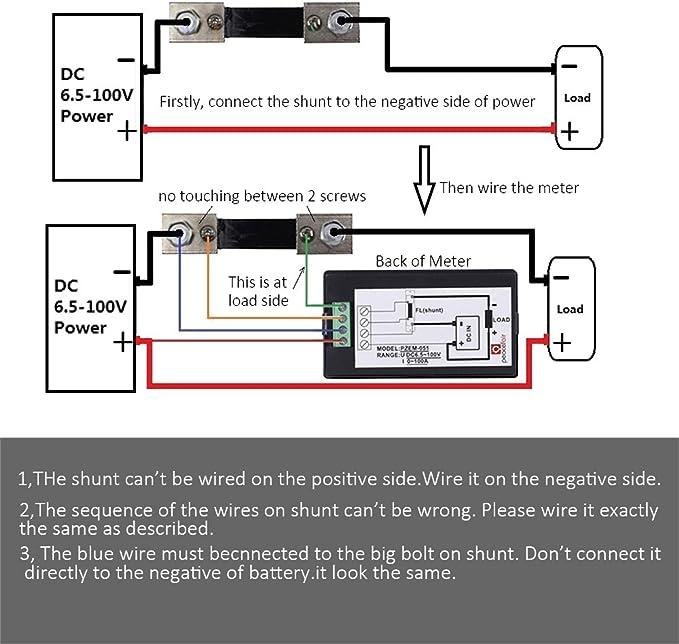 instrucciones de montaje del monitor de voltaje MicTuning