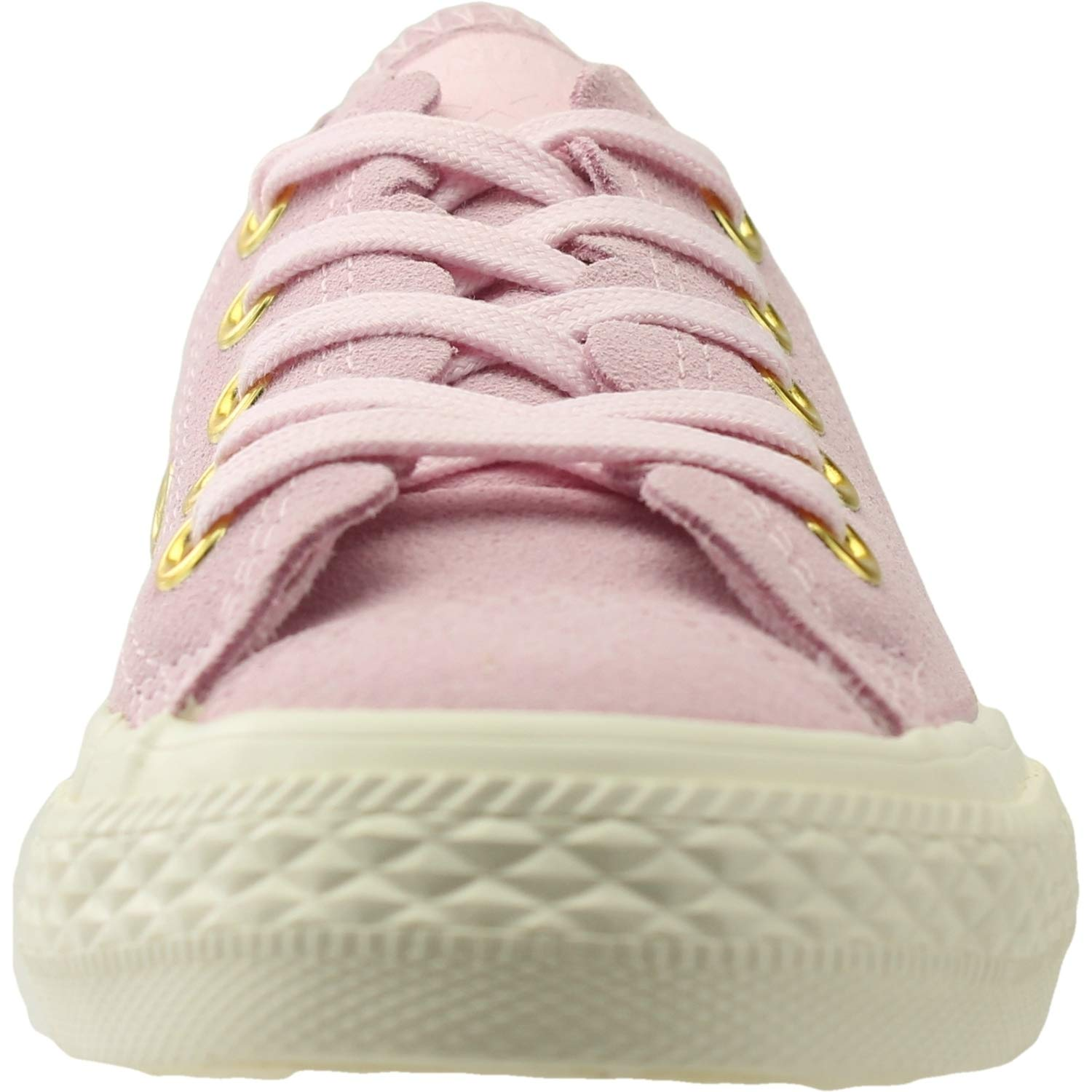 Converse Chuck Taylor All Star Ox Frilly Thrills Thrills Thrills Rosa Schaum Wildleder Junior Trainer Schuhe 58e20b