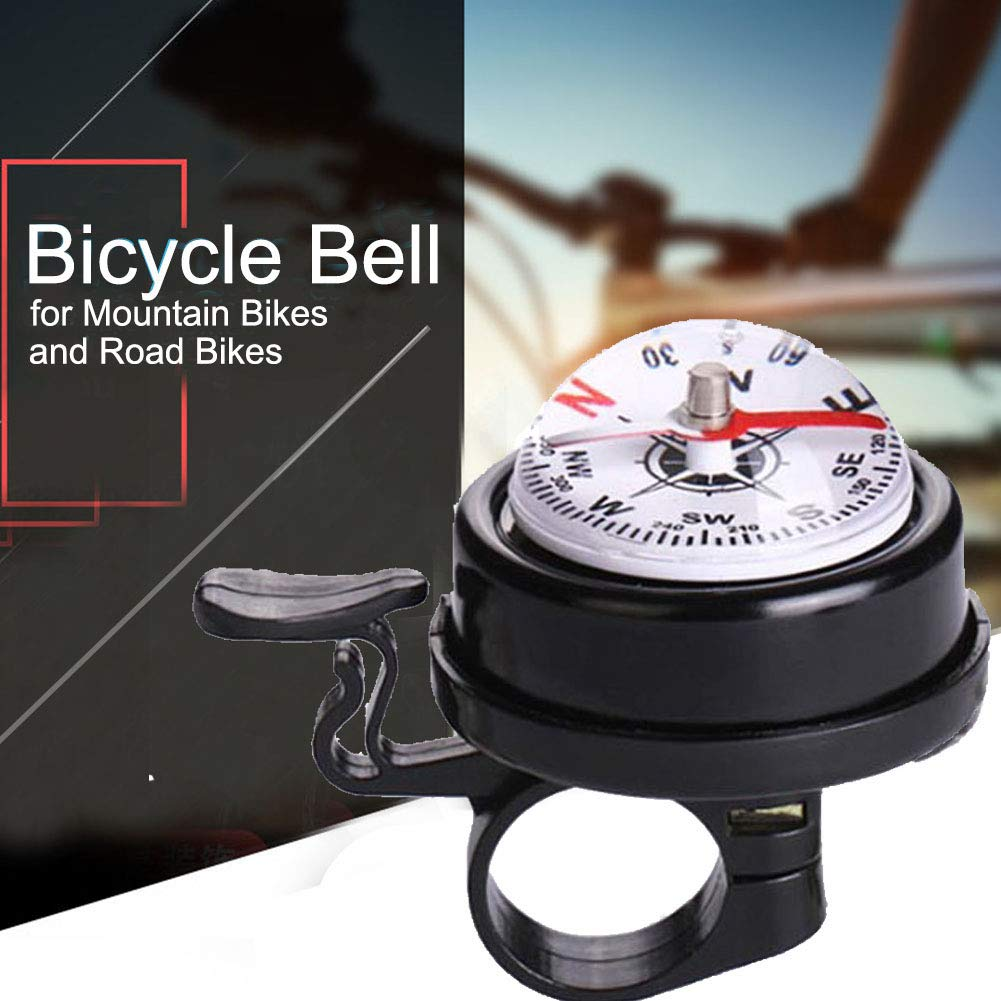 NEW Bike Metal Mountain Cycling Compass Ball Bell Bicycle Ring USD