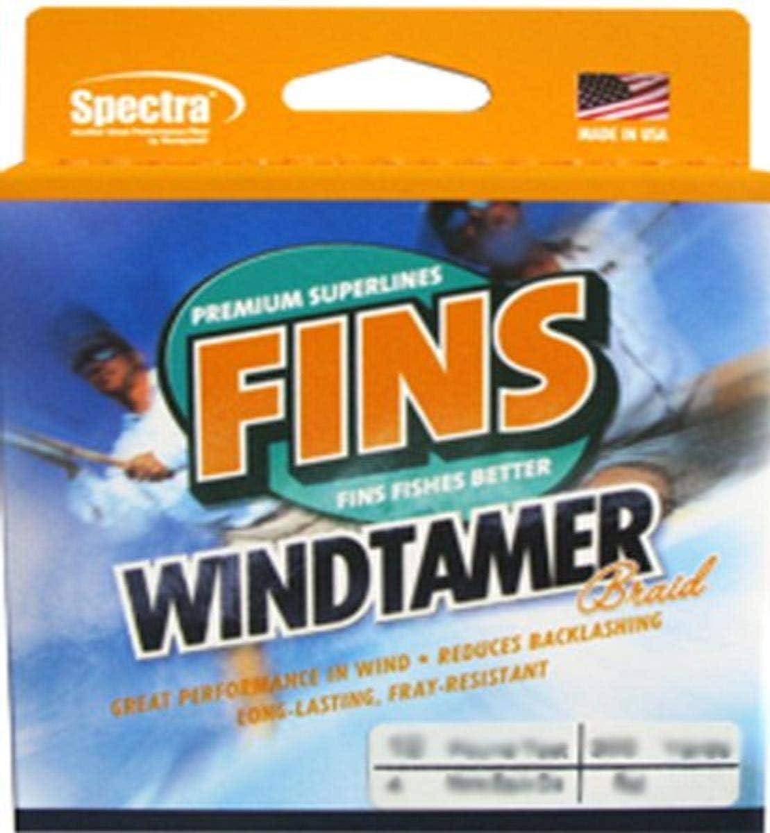 Fins Spectra 300-Yards Fishing Windtamer San Super sale period limited Antonio Mall Line