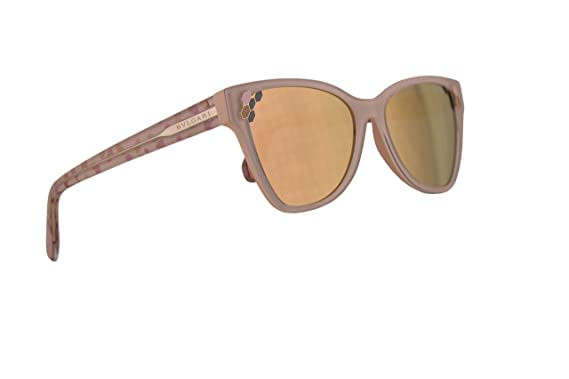 cb58f8ef4 Image Unavailable. Image not available for. Color: Bvlgari BV8208  Sunglasses Top Transparent Pink ...