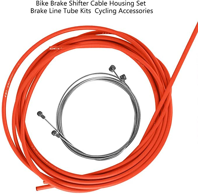 Bicycle Brake Cables Bike Shift Cable Wire MTB Road Line Pipe Cycling Accessory