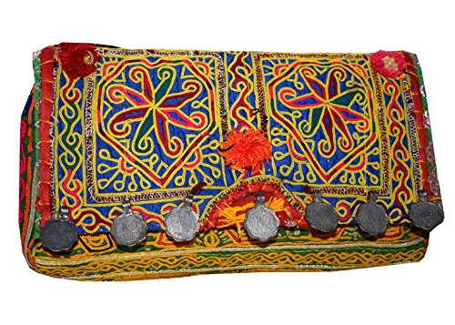 Tribal Asian Textiles, Borsa a spalla donna Multi-Color