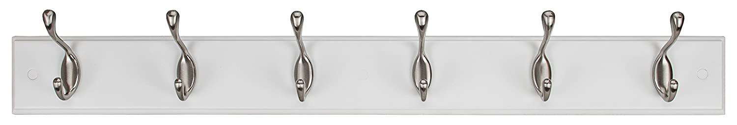 Kiera Grace Connor Coat Rack, 2 Oil Rubbed Bronze Hooks, 12-Inch, Espresso AZ Home and Gifts FN00442-0