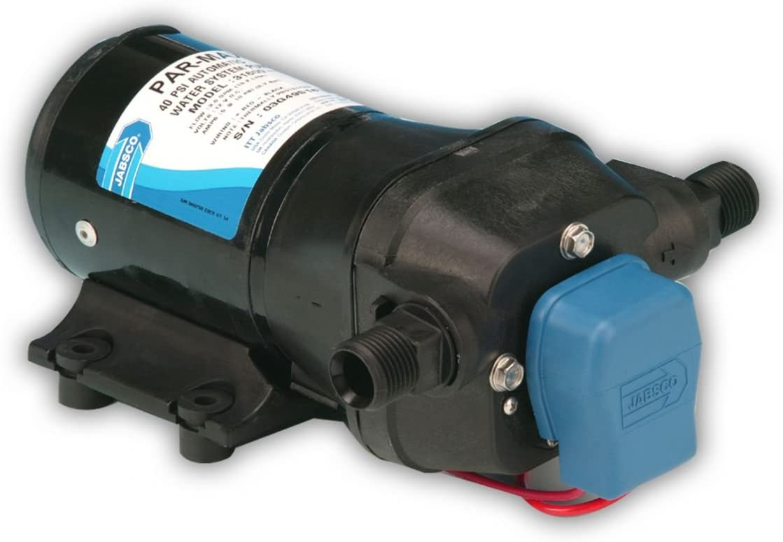 Jabsco 31600 Series, PAR-Max 3 Multiple Fixture Water System Pump, Self Priming