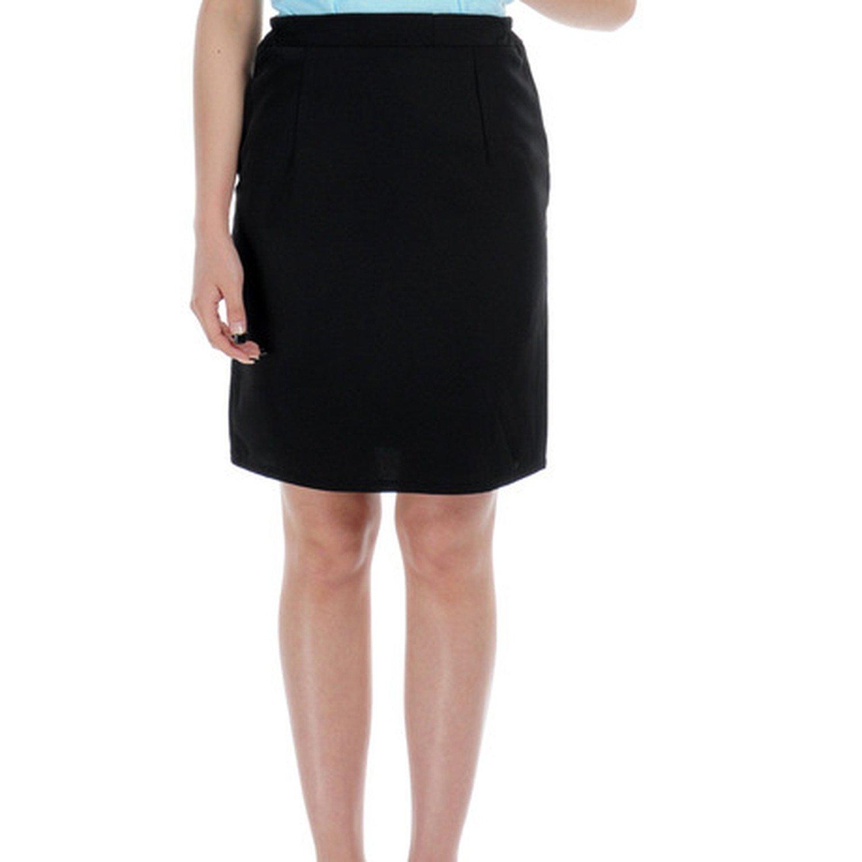 Skirt Fine Black Skirt Lady Short Skirt Hotel Work Skirt Step Skirt,XXL