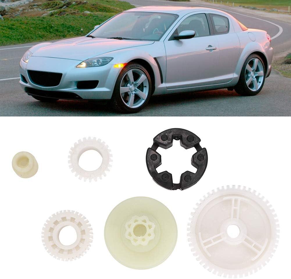 needlid Motor de Engranaje de Elevador de Ventana Resistente Motor de Engranaje de Ventana para Mazda 3 Sport 2009 3 2008-2009 5 2006-2010