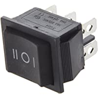 SODIAL(R) Interruptor Basculante 6-Terminales 3 Posicion ON/OFF/ON DPDT