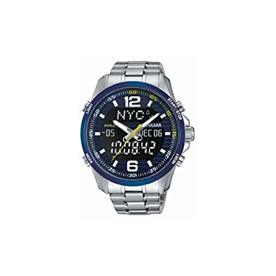 Seiko Pulsar Reloj Racing Doble indicación pz4003 X 1 línea Accelerator: Amazon.es: Joyería