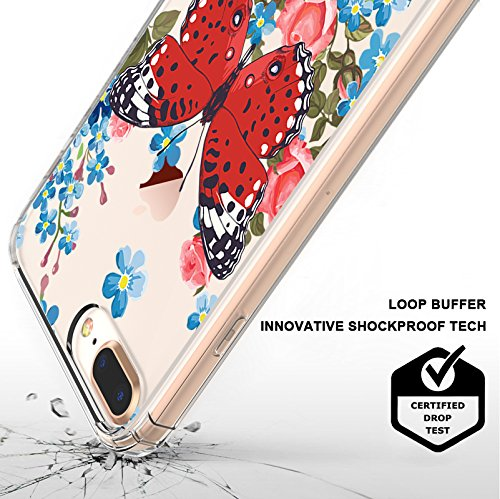 iPhone 8 Plus Case Butterfly