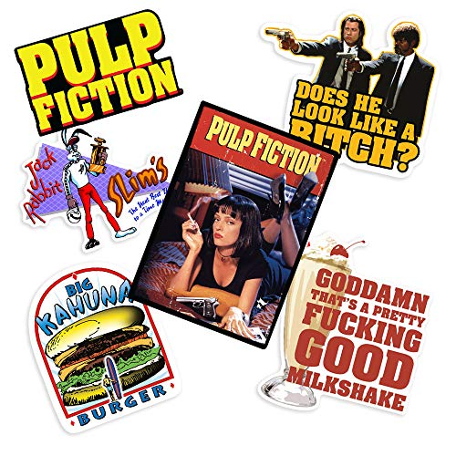 Popfunk Pulp Fiction Collectible Stickers with Big Kahuna
