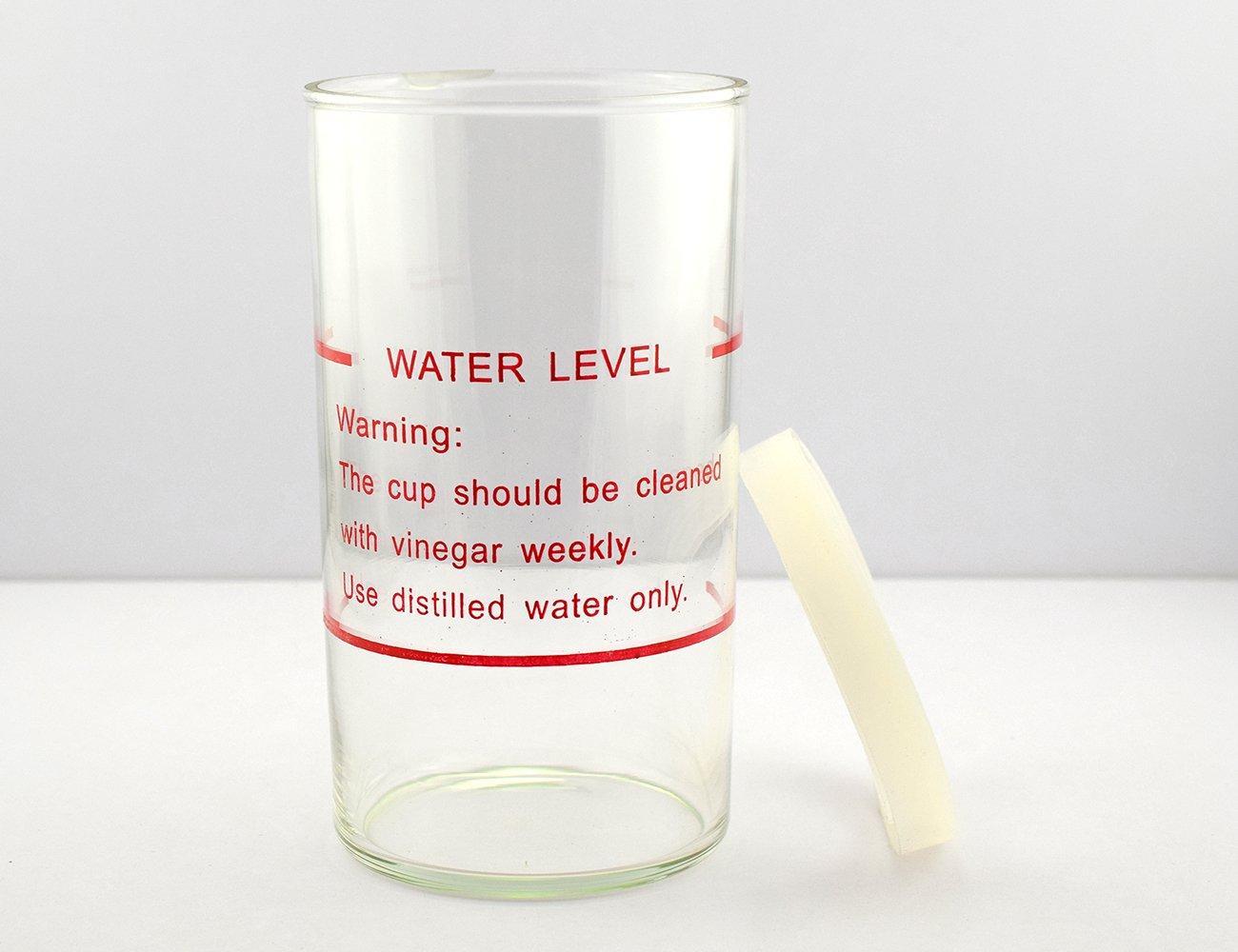 Elitzia Facial steamer glasses jar Accessories Glasses With Rubber Seal Steamer jar for 1000BM Steamer Spare parts ET1000BMJAR