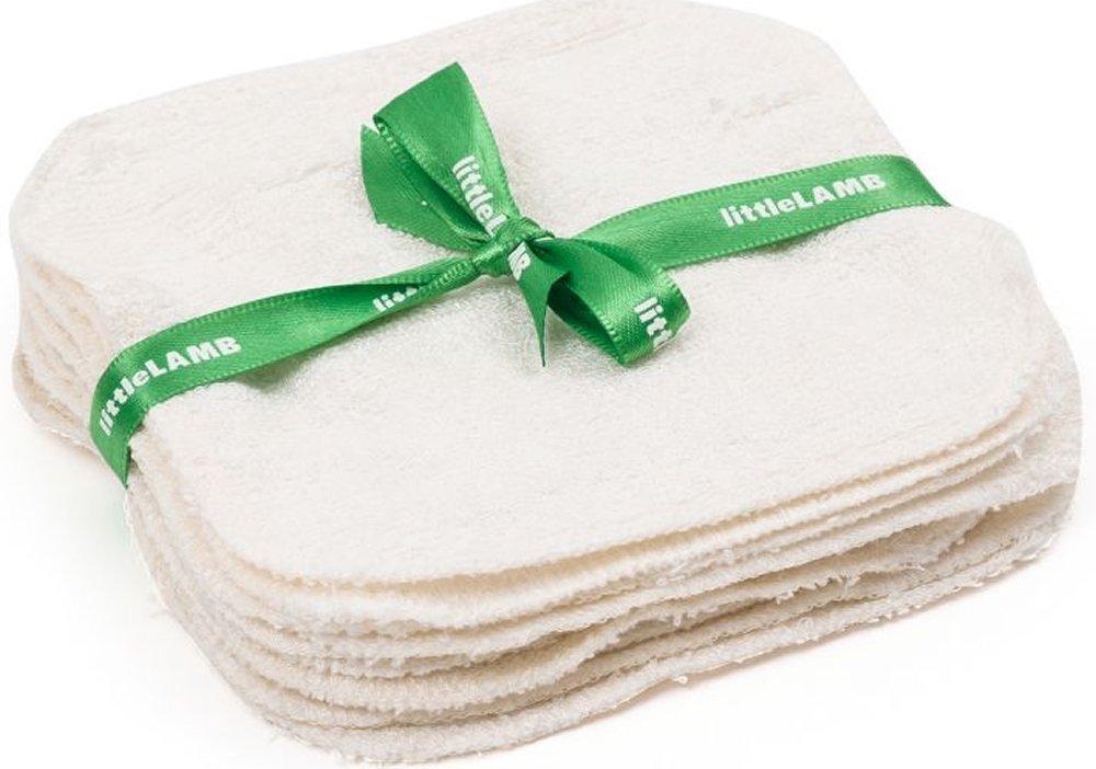 Little Lamb Lingettes Gant de toilette Bamboo Pack de 10