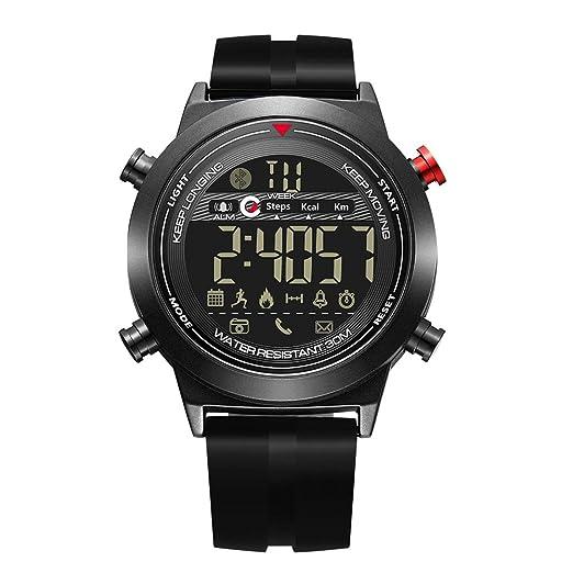 Amazon.com: JIANGYUYAN Fashion Smart Watch Waterproof 3ATM ...
