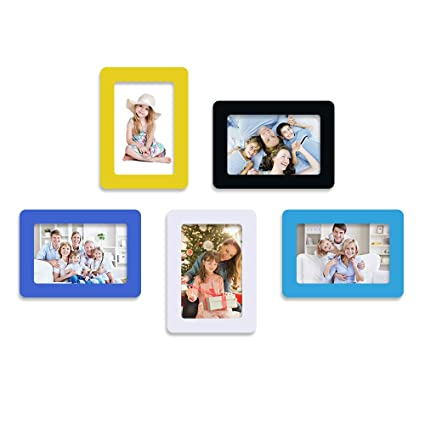 Amazon.com - UCMD Colorful Magnetic Fridge Photo Frames 11.8x16cm ...