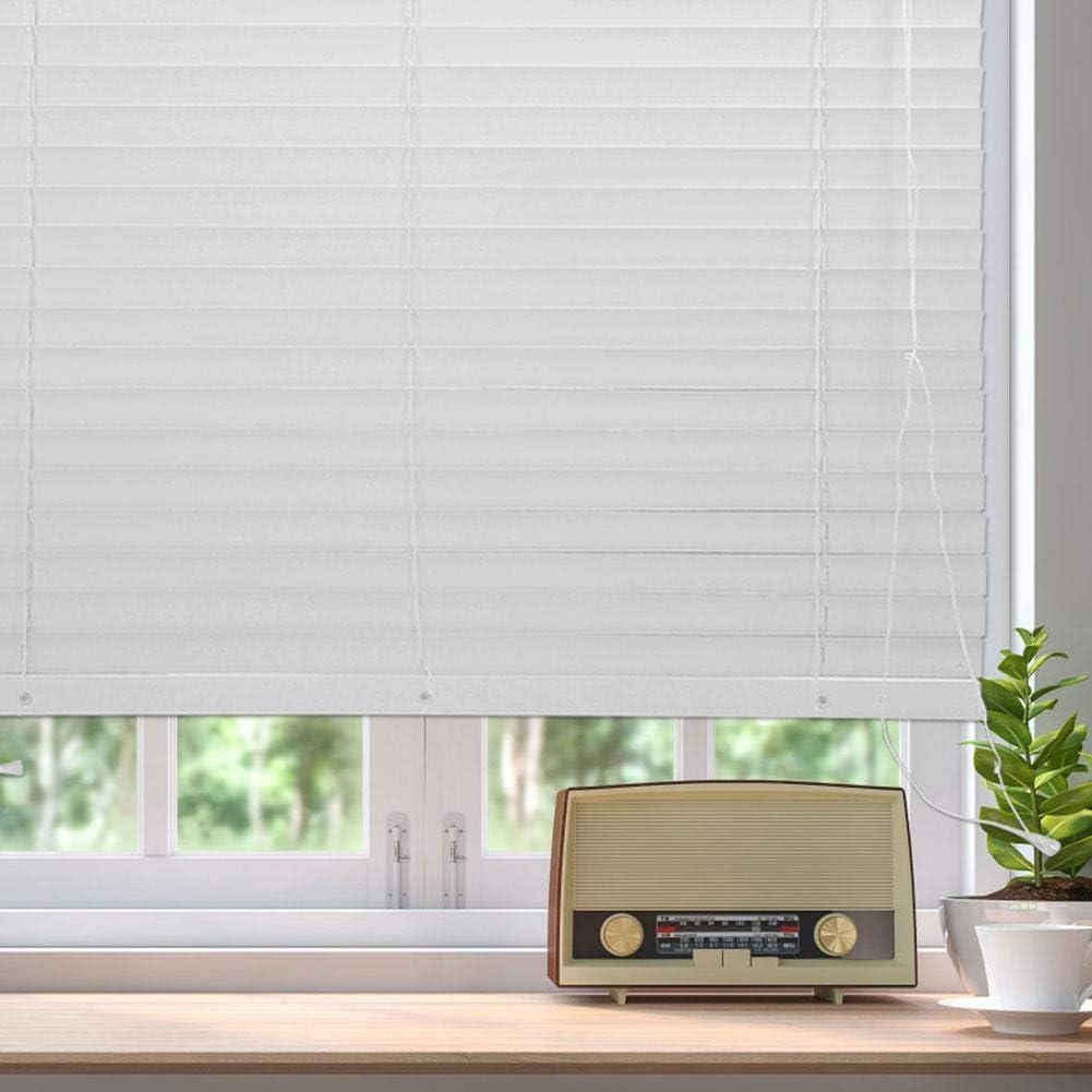 Plateado Venecianas de Aluminio Plata Cortina Persiana para Ventana y Puerta lyrlody Persiana Veneciana 150cm 50mm por Rebanada 105 x 150cm