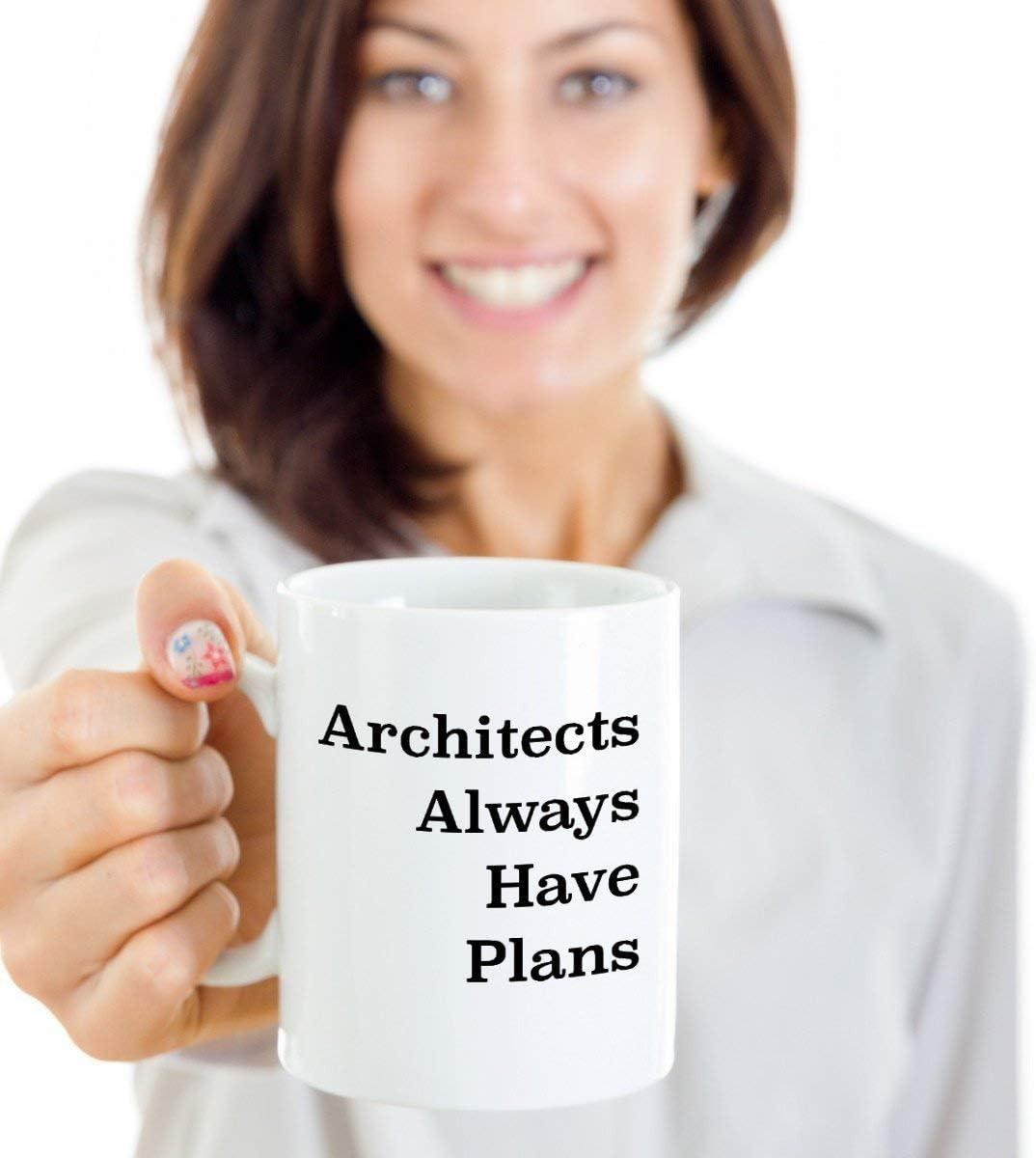 Eli231Abe - Taza de regalo de graduación para arquitecto, regalo divertido para arquitecto, regalo de cumpleaños para hombres y arquitectos