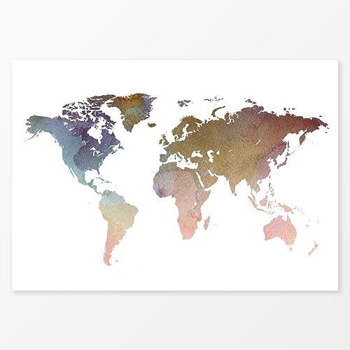 Poster Size Printable World Maps Free Usa Maps - 8x10 printable world map