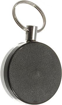 R 2X SODIAL 4 cm Semi-metallische Schnur Schluessel Anti-Verloren Schluesse 2F