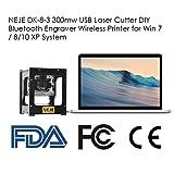 Alloet NEJE DK-8-3 300mw USB Laser Cutter DIY