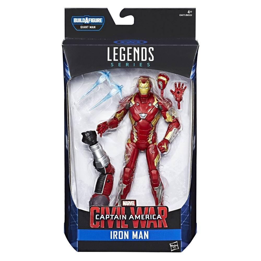 Captain America Civil War Marvel Legends  Iron Man 15cm Action Figure