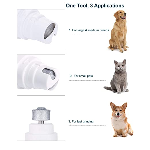 : Amazon.com: MASKOTA Pet Claw Care Tools for Dogs and Cats (Electric Nail Grinder)