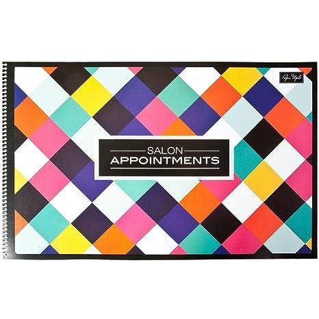 MARIANNA Salon 6 Columns Appointment Book BK-08801