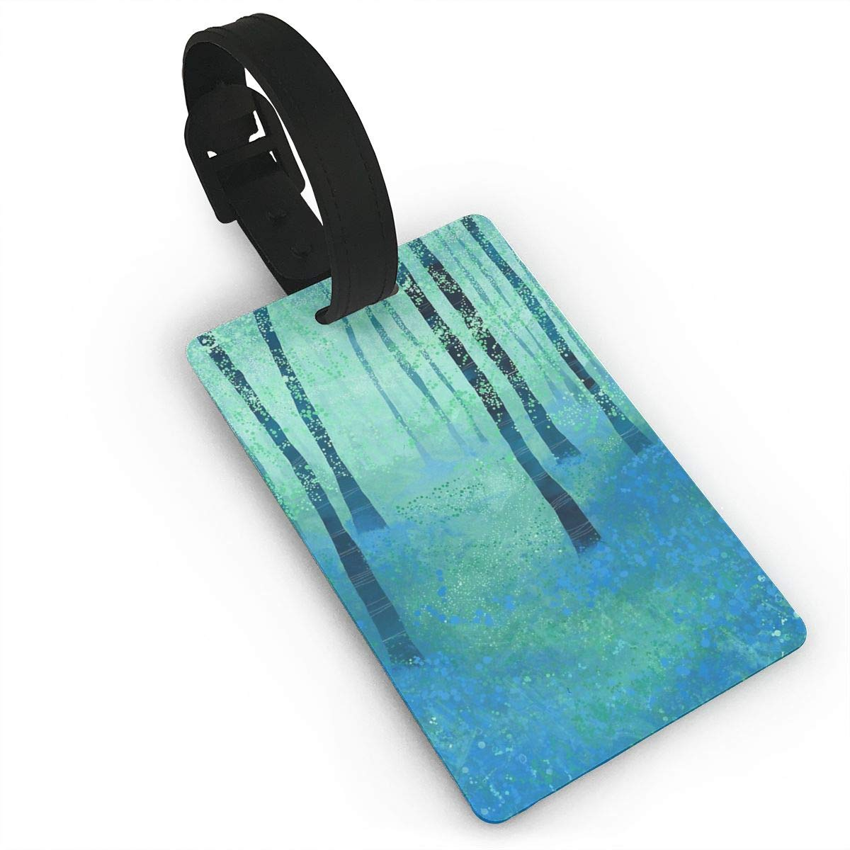 Bluebells,Challock Luggage Tags Suitcase Labels Bag Travel Accessories Set of 2