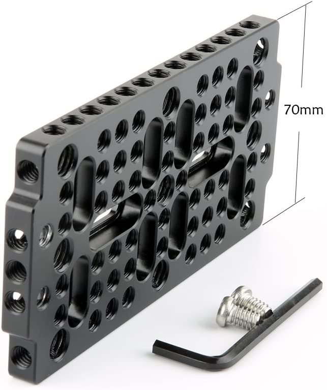 NICEYRIG Camera Cheese Mounting Plate for Cage Attachment