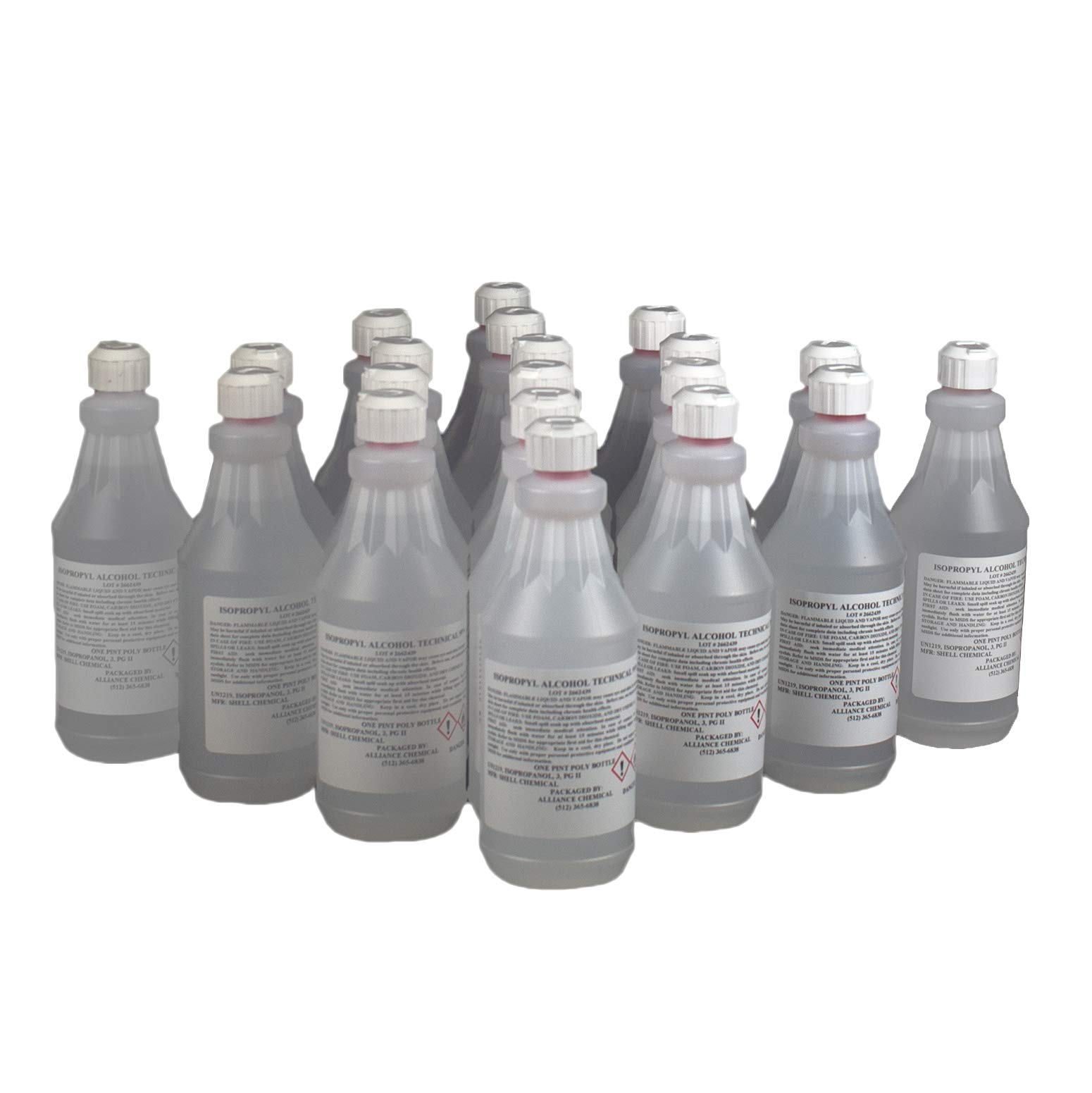 Isopropyl Alcohol 99% Technical Grade - 20 Pints by Alliance Chemical